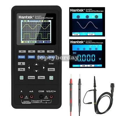 3-in-1 Hantek 2d42 Digital Oscilloscope Waveform Generator Multimeter 40mhz