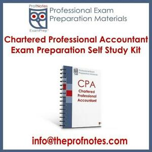 CPA Exam Prep Textbooks & Study Notes Core 1 & Core 2 Chartered Professional Accountant to help with Densmore CPA