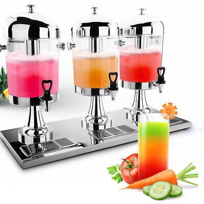 Commercial Beverage Dispenser Gallon 24l Family Cold Drink Juice Machine Sliver