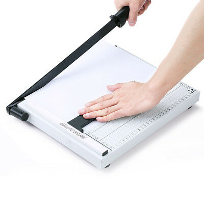 A4 Heavy Duty Professional Paper Guillotine Cutter Trimmer Machine Home Office