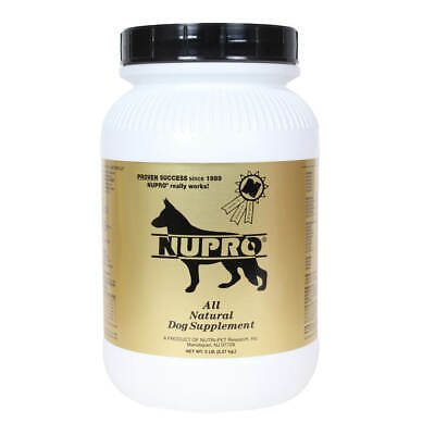 Nupro All Natural Dog Supplement, 5 lb, Gold