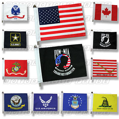 Motorcycle Flags  Extra Strong  Double Stitched  6X9 or 10X15 Motorcycle Flag