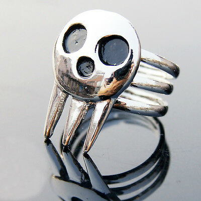 Hot Anime Soul Eater Death the Kid Ring Cosplay Prop - Anime Kid