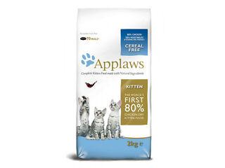 Applaws kitten dry chicken 2kg (70 meals) food - cat - dry kitten