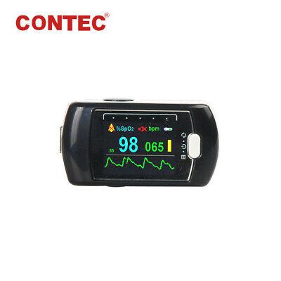 24h Spo2 Pr Fingertip Pulse Oximeter Sleep Recorder Blood Oxygen Monitorbattery