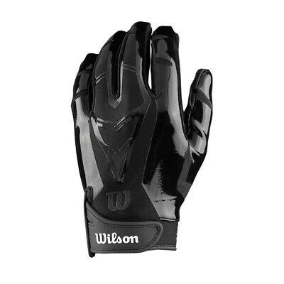 Wilson MVP Receiver's Football Gloves Adult X-Large, Black