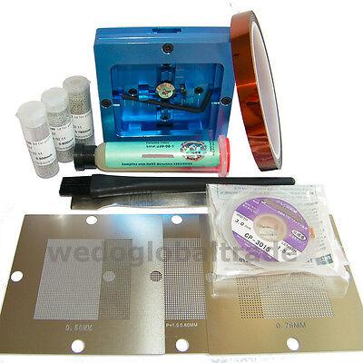 Bga Reball Station0.5 0.6 0.76 Universal Stencil For Pc Video Game Rework Kit
