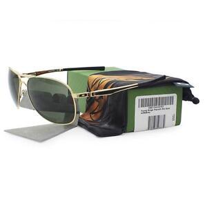 Oakley OO 4057-12 PLAINTIFF Yuvraj Singh Polished Gold Dark Grey Mens Sunglasses