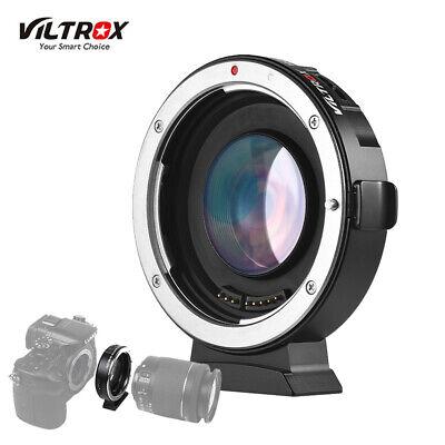 Canon Auto-adapter (VILTROX EF-M2II Autofokus-Objektivadapter für Canon EOS EF-Objektiv auf MFT M4/3)