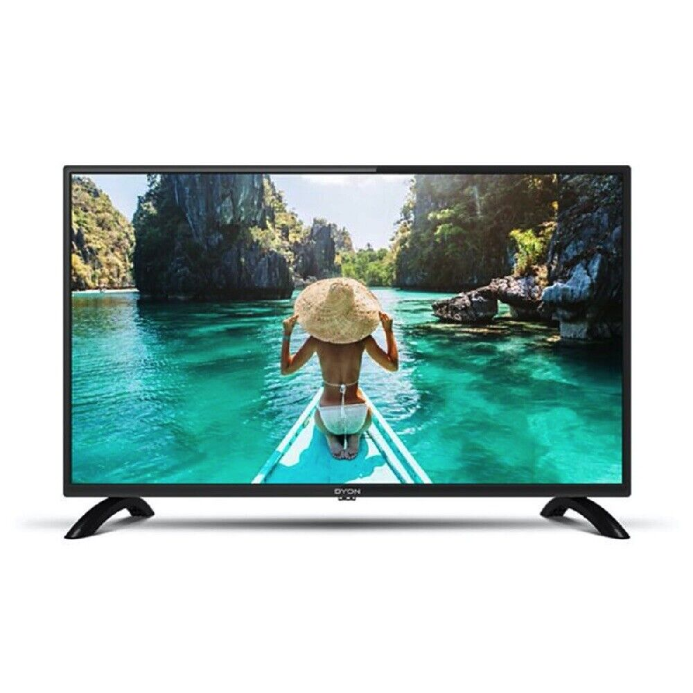 DYON TV LED Fernseher MOVIE 32 PRO X 31,5 Zoll HD TV DVB T2 S2 Triple Tuner HDMI