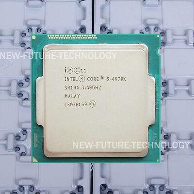Intel Core i5-4670K (BX80646I54670K) SR14A CPU 5 GT/s/3.4 GHz LGA 1150 100% Work