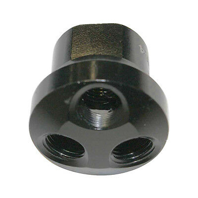(Aluminum Dome Manifold - 3 Way Adaptor 1/2