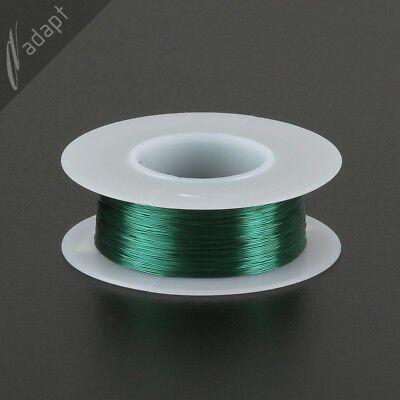Magnet Wire Enameled Copper Green 32 Awg Gauge Hpn 155c 18 Lb 613 Ft