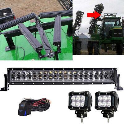 20inch 120w Led Light Bar Kit For John Deere 4600 4700 300 301 401 1010 1020