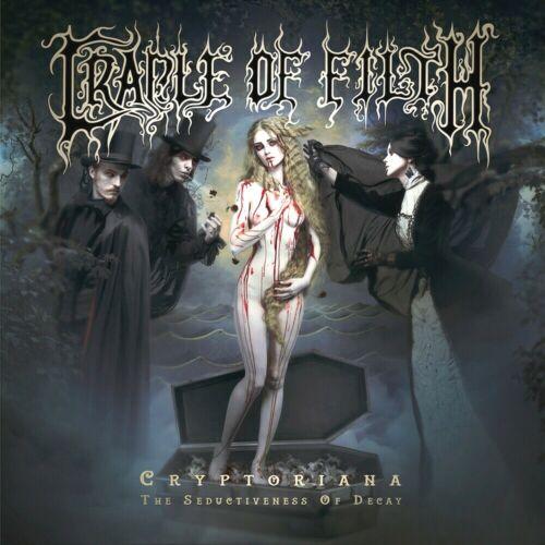 Cradle Of Filth Cryptoriana  12x12 Album Cover Replica Poster Print