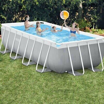 Pool Intex 4,88m x 2,44m x 1,07m Prism Frame PREMIUM POOL neu...