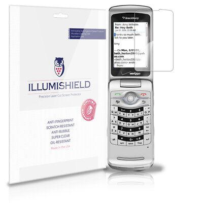 iLLumiShield Anti-Bubble Screen Protector 3x for BlackBerry Pearl Flip 8220 8230 Blackberry 8220 Screen Protector