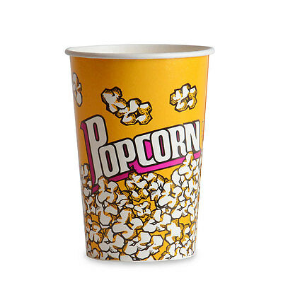 Popcorn Cup 46 oz. 500/CS  -  FAST Shipping !!!