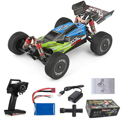 Wltoys XKS 144001 2.4G 1:14 RC Auto 4WD 60km/h High Speed Buggy Off-Road Car RTR