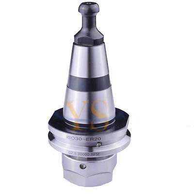 Iso30 Er20 M12 G2.5 30000rpm Precision Balance Collet Chuck Holder Iso30 New