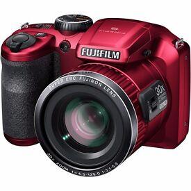 Fujifilm finepix s6500 camera- Red