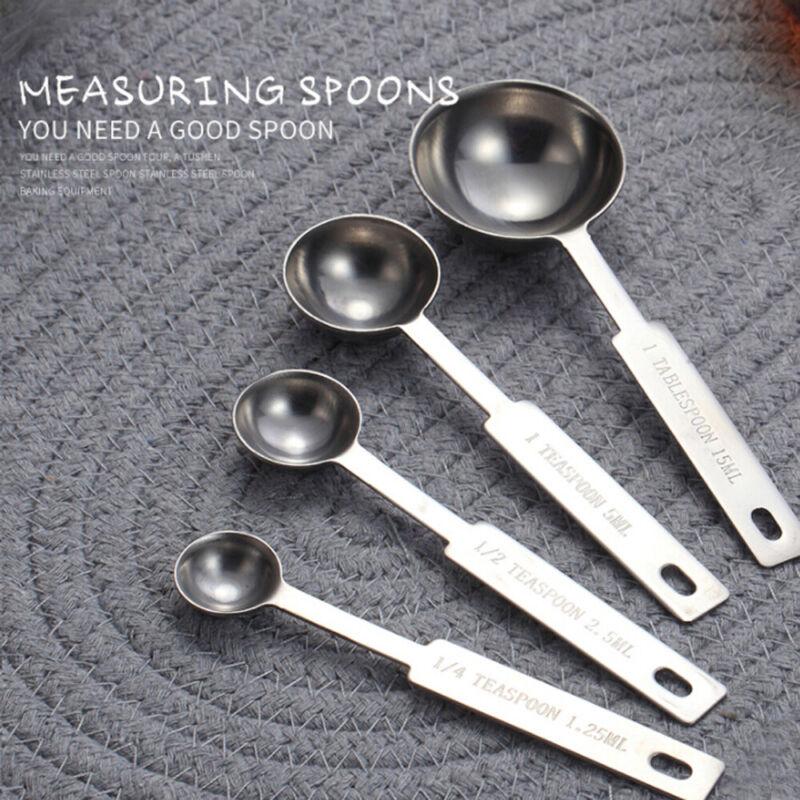 Steel Kitchen Gadgets Flour Scoop Measuring Spoons Measuring Cups Scales