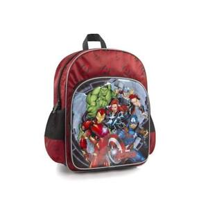 Marvel Avengers Kids Backpack - 15 Inch School Bag for Boys [Iron Man, Thor, Wonder Women, Hulk]