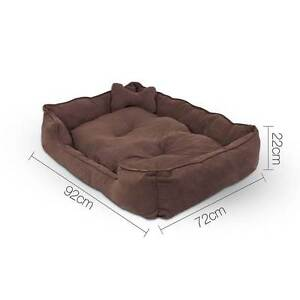 Faux Suede Washable Dog Bed - Large Brisbane City Brisbane North West Preview