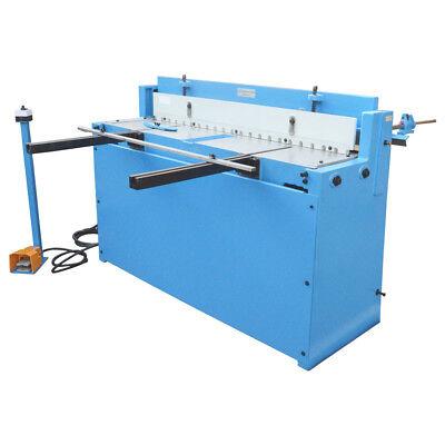 Wametal Working Air Pneumatic 52 Inch X 16 Gauge Shear 40 Stroke Pressure Cutter
