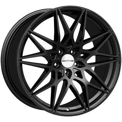 "4-Sothis SC109 18x8 5x4.5"" +35mm Gloss Black Wheels Rims 18"" Inch"