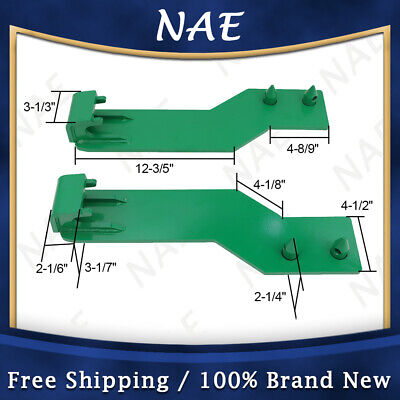 Tractor Loader Quick Tach Weld On Mounting Brackets Green Fit For John Deere