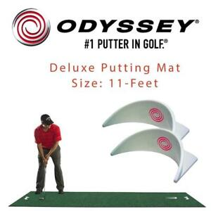 NEW Odyssey Deluxe Putting Mat, 11-Feet Condtion: New