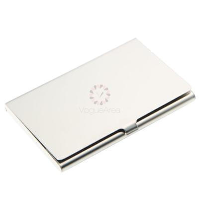 Waterproof Stainless Steel Metal Business Card Holder ID Credit Wallet Case Box
