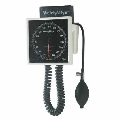 Welch Allyn 7670-01 Wallmobile Aneroid Sphygmomanometer Gauge Adult Cuff 901091