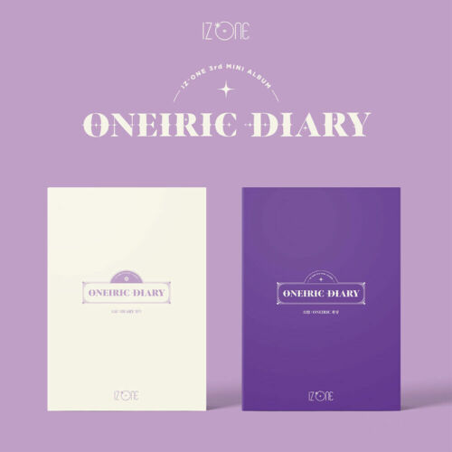I*ZONE (IZONE) - Oneiric Diary (3rd Mini Album) Ver. Oneiric, Diary (SEALED)