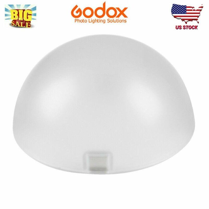 Godox AK-R11 Dome Diffuser Accessory For V1 Flash Godox H200R Round Head Light