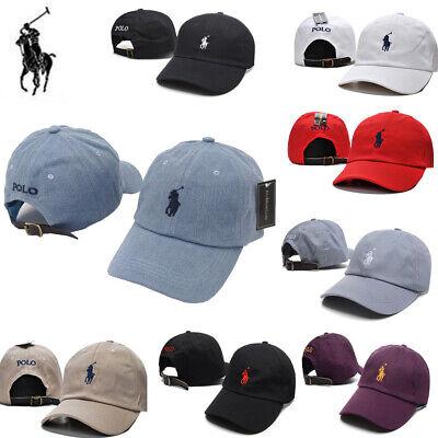 df55eced5e7c New Men Women Cap with Fine Embroidery Small Pony Polo Logo Hat Baseball  Cotton