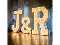 LIGHT UP LED LETTERS - Delivered all over NI