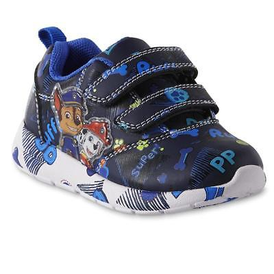 - NEW Boys Toddler Light Up Paw Patrol Sneakers Shoes Size 6 7 8 9 10 11 12 Chase
