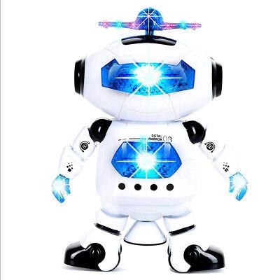 Robot Kids Toddler Robot Dancing Musical Toy Best Birthday Xmas Gift Child Toys