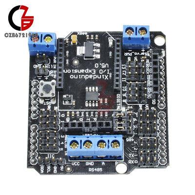 V5 Io Expansion Shield Xbee Sensor Shield Srs485 Bluetooth Pwm For Arduino Sd