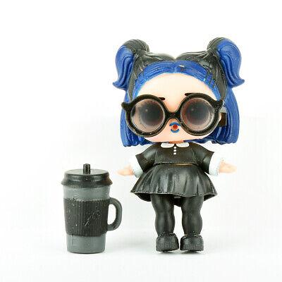 L.O.L. LOL Surprise! Doll Figure Blue Hair Girl w/Black Skirt & (Lol Sunglasses)