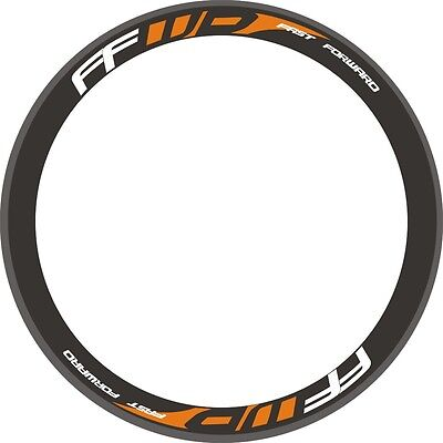 HED Carbon Bike//Cycling//Cycle//Push Bike Wheel Decal Sticker Kit For 2Wheels 700C