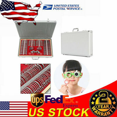 266pcs Optical Trial Lens Set Metal Rim Aluminium Case Free Trial Frame Gift