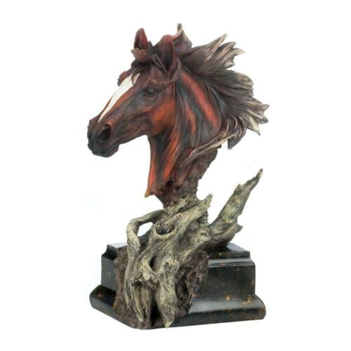 DRIFTWOOD STALLION SCULPTURE STATUE FIGURINE