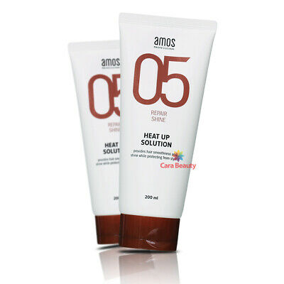 HEAT PROTECT Cream from heat tools / amos professional HEAT-UP SOLUTION 200g