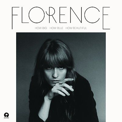 FLORENCE AND THE MACHINE HOW BIG HOW BLUE HOW BEAUTIFUL: CD ALBUM (1/06/2015)