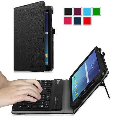 For Samsung Galaxy Tab E 8-Inch Tablet Folios Case Cover Stand with (Samsung Galaxy Tab E Case With Keyboard)