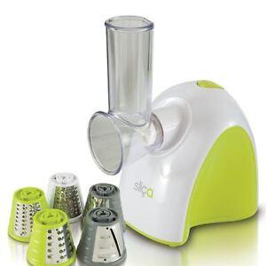 New Electric Vegetable Slicer Salad Maker Machine Cutter Peeler Food Grater Tool
