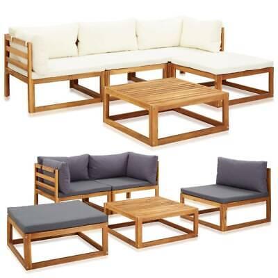 Garden Furniture - Garden Longue Set Patio Modular Sectional Sofa Outdoor Coffee Table Furniture